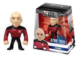 Metals Figura Star Trek Capitan Jean Luc Picard 11cm Full