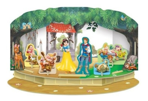 Playset Momentos Magicos Princesas Disney - Branca De Neve