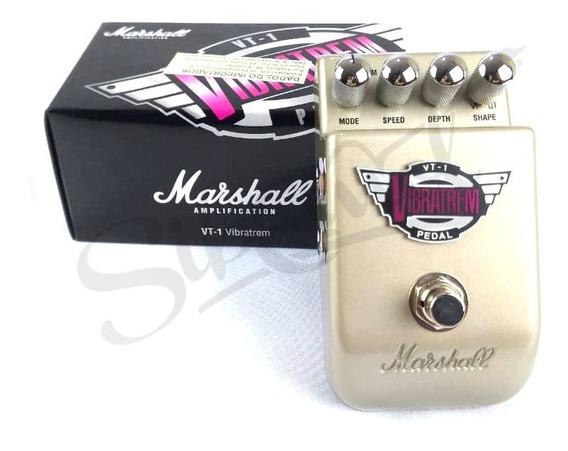 Pedal Guitarra Marshall Vt1 Vibratrem Vibrato Tremolo