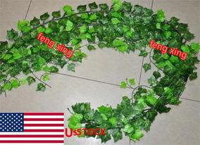 78ft Faux Sweet Potato Leaf Vine - 78ft Artificial Bata-7835