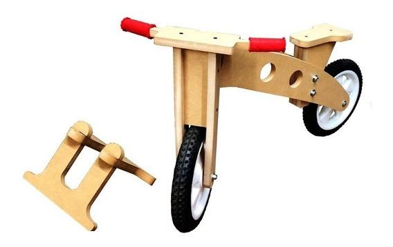 Bicicleta Sin Pedales Camicleta Infantil C/ Base Fibrofacil