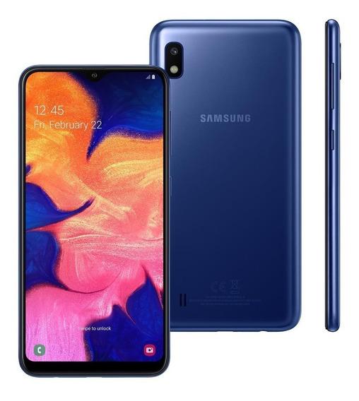 Smartphone Samsung Galaxy A10 A105m 32gb 2gb Ram 13mp Azul