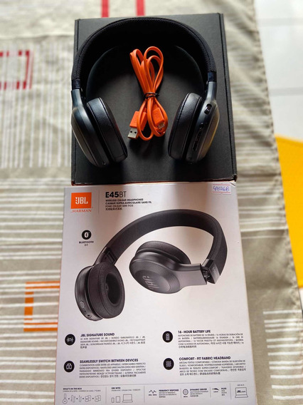 Headphone Jbl E45bt Com Bluetooth E Wireless,harman,nf,novo.