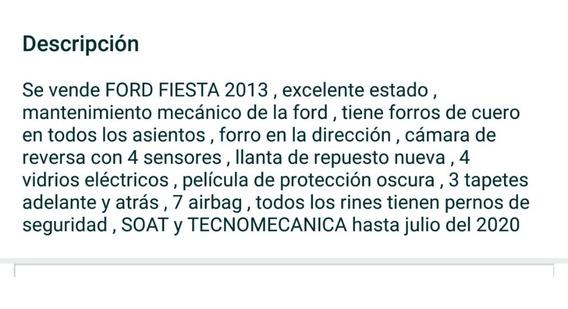 Ford Fiesta Se 2013 2013