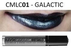 Nyx Labial Cosmic Metal Lip Cream Galactic