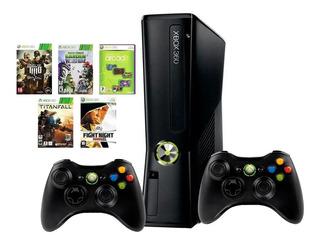 Xbox 360 . 2 Joysticks, Kinect, Transformador