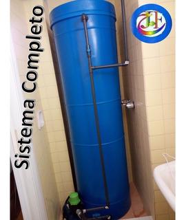 Tanque De Agua 520/550ltr Cilindrico Presscontrol