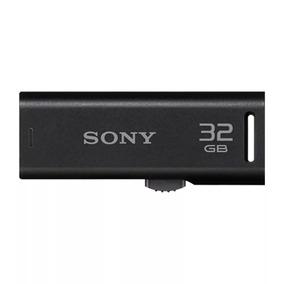 Pendrive Pen Drive 32gb Sony Retrátil Usm32gr Nota Fiscal