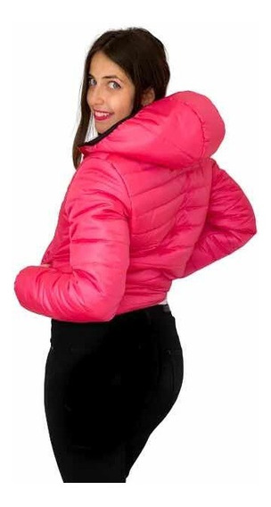 Campera Mujer Inflable Tipo Uniqlo Impermeable Y Térmica