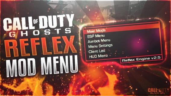 Reflex Enguine 2.5 Mod Menu Call Of Duty Ghosts