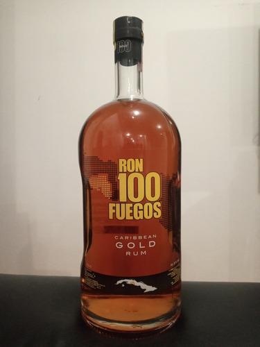Ron Gold, 100 Fuegos, 1.75 Lt