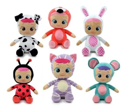 Cry Babies Bebes Llorones Peluche 40 Cm Phi Phi Toys