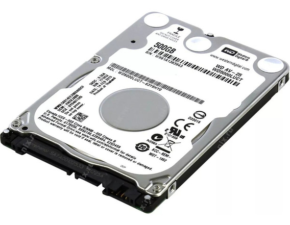 Hd 500 Gb Sata Notebook Wd/hgst/seagate/toshiba Slim 7 Mm