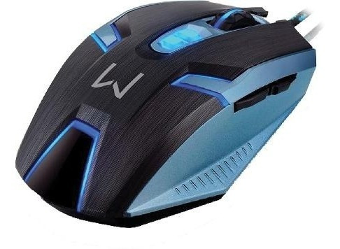 Mouse Gamer Warrior Ambidestro 4000 Dpi Multilaser Semi Novo