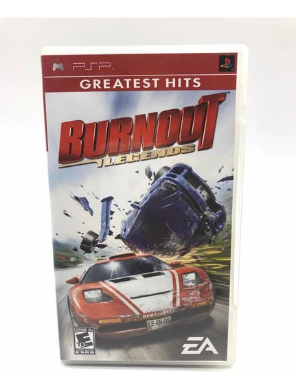 Burnout Legends Sony Psp Original Americano