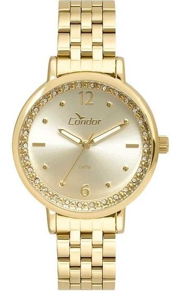 Relógio Condor Feminino Dourado Co2035fnf/4x