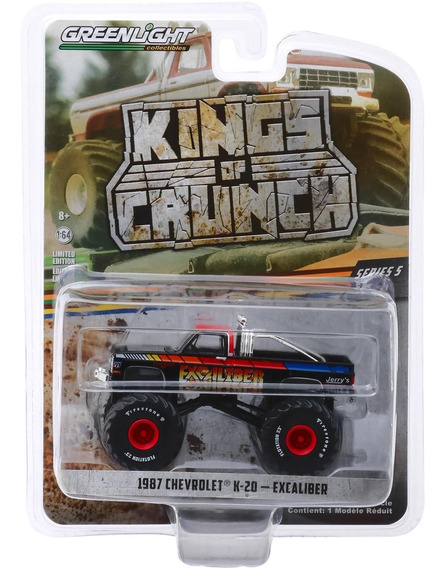 Greenlight Kings Of Crunch 1987 Chevrolet 5-20 Excaliber