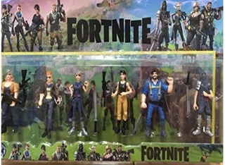 Figuras Fornite Por Mayor (pack 6 Figuras X 6)