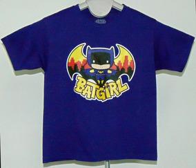 Playera Original Kids Ilustración Batgirl Envio Gratis