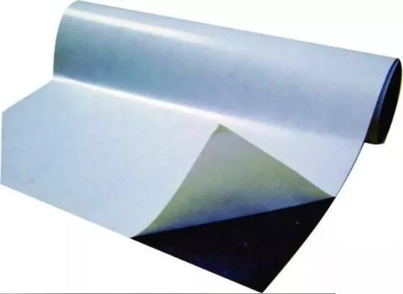 Rolo 7 Metros Manta Magnética Adesivada 0,3mm Fermag 60cm