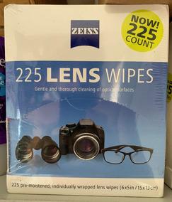 225 Lenços Zeiss Umedecidos Limpeza De Lentes E Óculos