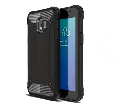 Protector 2 En 1 Reforzado Samsung Galaxy J2 Core Color Negr