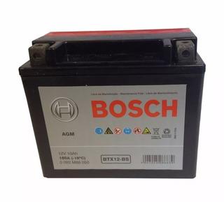 Bateria Moto Bosch Btx12 Ytx12bs Gel V Strom 650 Hyosung