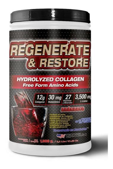 Colágeno Hidrolizado Regenerate & Restore 1,000gr Hialurónic