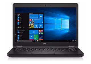 Notebook Dell Latitude I5 8gb 256ssd 14 Win10 Profesional - Ideal Para Pymes Con Garantia Oficial De 3 Años