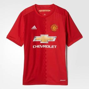 Playera Jersey Infantil adidas Manchester United Climacool