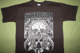 Gusanobass Playera Rock Metal Corrosion Of Conformity Med