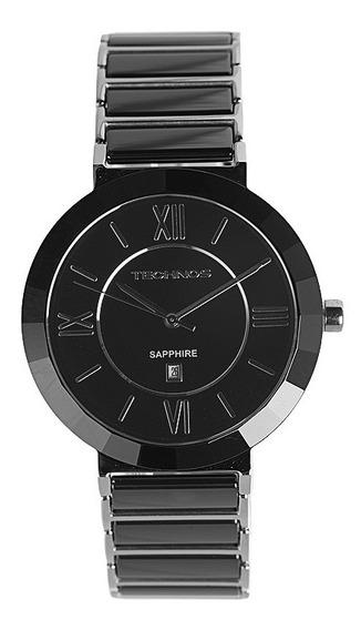 Relógio Technos Elegance Ceramic Safira 2015bx1p Nota Fiscal