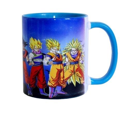 Caneca Azul Goku