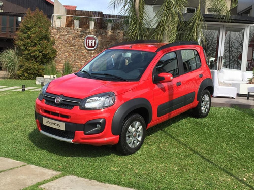 Fiat Uno Way 0km 2021 Para Uber Cabify Beat Solo Con Dni C-