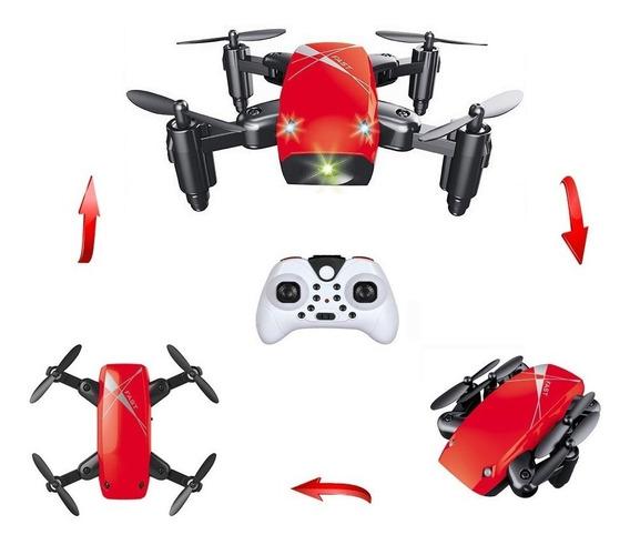 Mini Drone S9 Dobravel 2,4ghz Resistente Ideal Para Criança