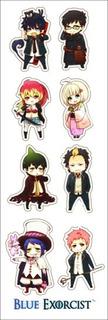Plancha De Stickers De Anime Ao No Exorcist Blue