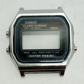 Caixa Para Relógio Casio F-91 Cromado