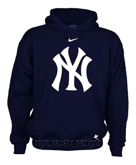 Sudadera Beisbol Mlb Yankees Nueva York Tigre Texano Designs