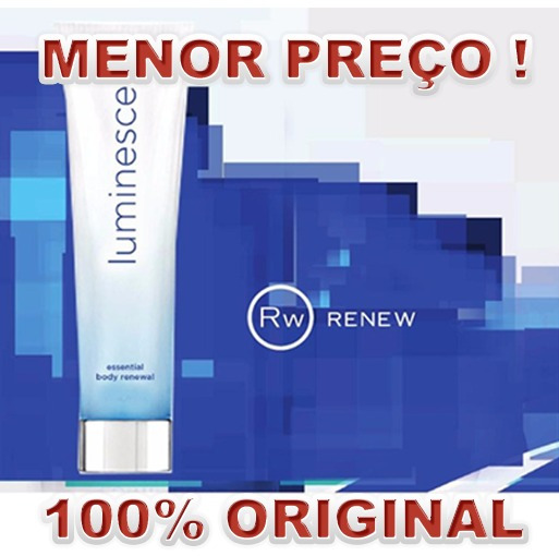 Luminesce Essential Body - 100% Original - Com Nota Fiscal