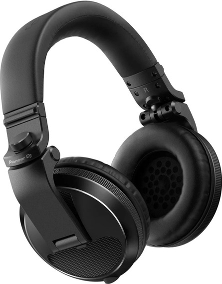 Fone De Ouvido Pioneer Dj Headphone Hdj X5 Black Hdj-x5-k