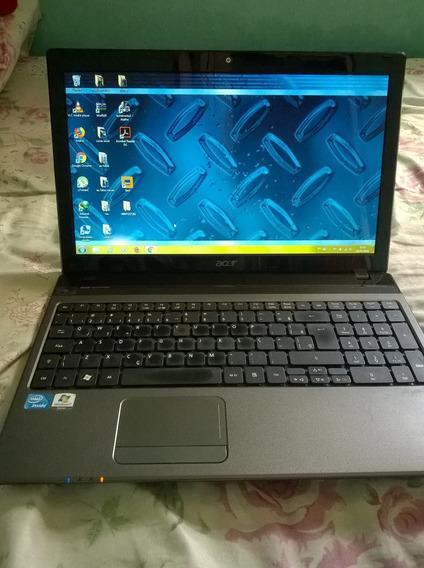 Notbook Acer Usado Muito Bem Conservado
