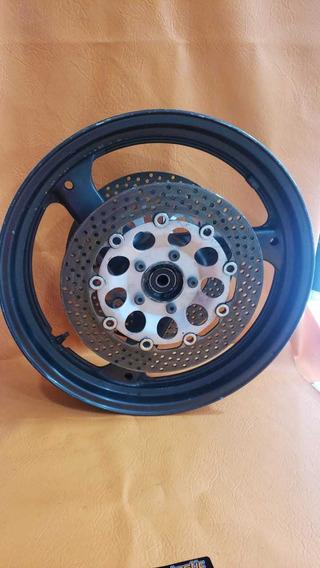 Roda Dianteira Com Discos Suzuki Gsx 750f Ano 2000/2008