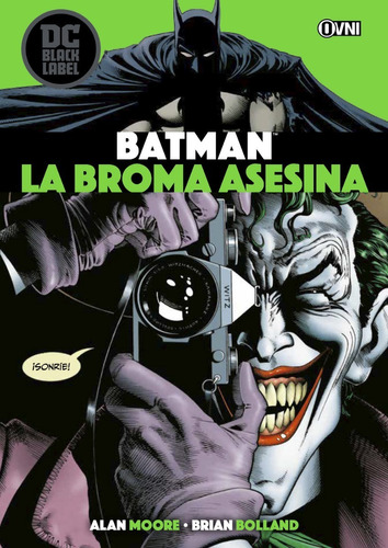 Imagen 1 de 6 de Cómic, Dc Black Label, Batman : La Broma Asesina Ovni Press