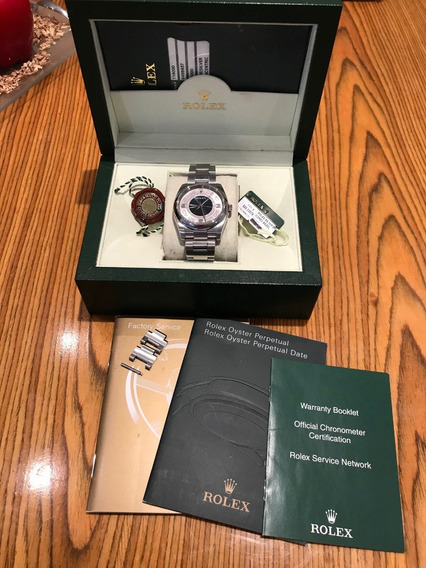Rolex Datejust Oyster Perpetual Original Con Caja Y Papeles