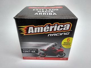 Motobateria America 12n7-4a