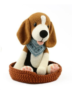 Beagle - Perros A Crochet - Nariz De Azúcar Amigurumis