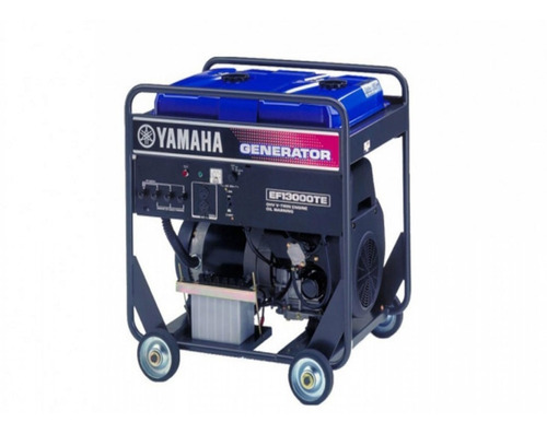 Generador Trifásico Yamaha Ef 13000 Te- Palermo Bikes