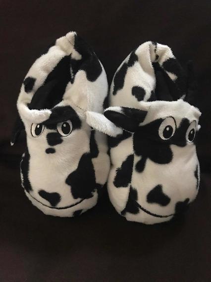 Pantuflas De Vaca