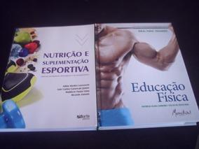 Kit Auxilio Educação Física Pró - 2 Livros Bacharel