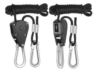 Suporte Para Refletor Hortosol Até 46kg Rope Hanger Cultivo